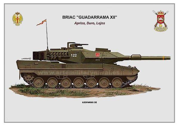 Leopardo 2E #ejercito de #España. Carros de combate españoles. Vehículo acorazado