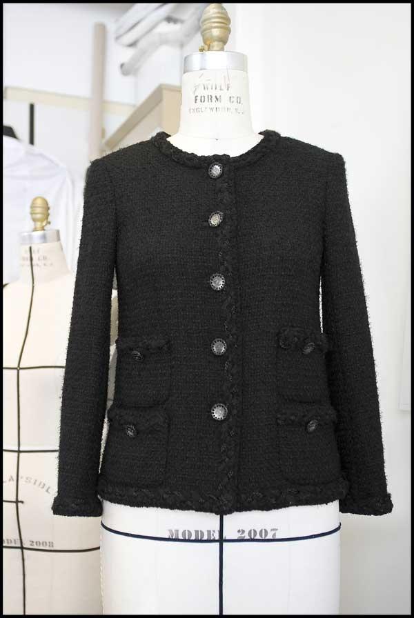 Making of the Chanel Little Black Jacket: et voila! © Chanel