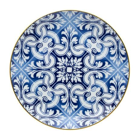 Vista Alegre Transatlantica Dessert Plate