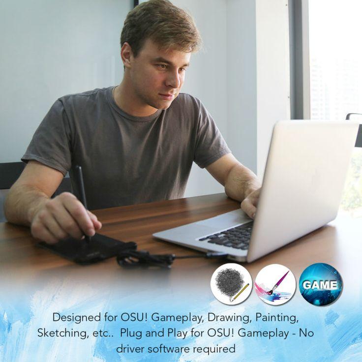 XP-Ручка G430 4x3 дюймовый Ультратонкий Графический Рисунок Таблетка для Игры ОГУ и батареек стилус дизайн! геймплей: The XP-Pen G430 4 x 3 inch Ultrathin Graphic Drawing Tablet for Game OSU and Battery-free stylus- designed! Gameplay.