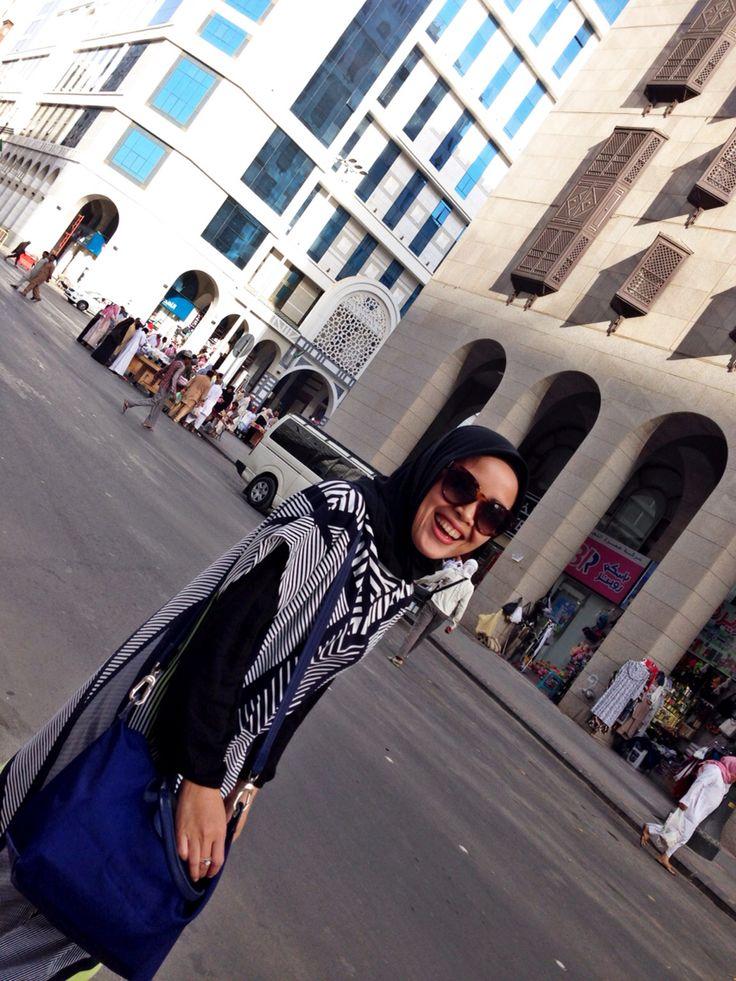 Super excited at medina