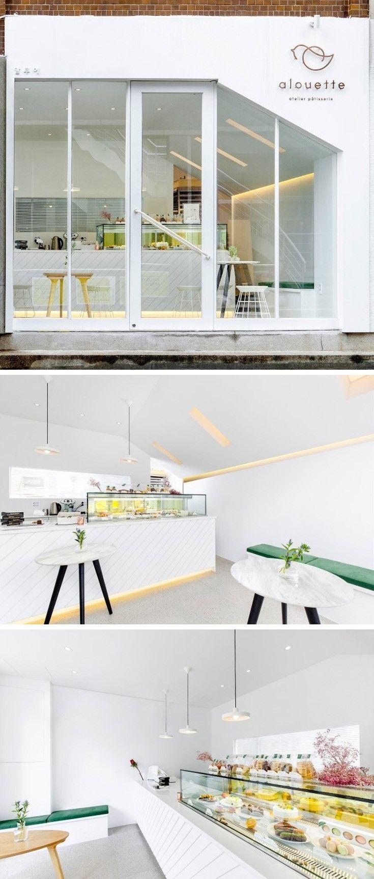 [No.52 알루에] 화이트 모던 디저트가게 인테리어 14평 white modern dessert shop interior design