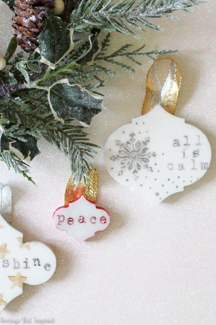 770 besten DIY Christmas Tree Ornaments + Inspiration Bilder auf ...