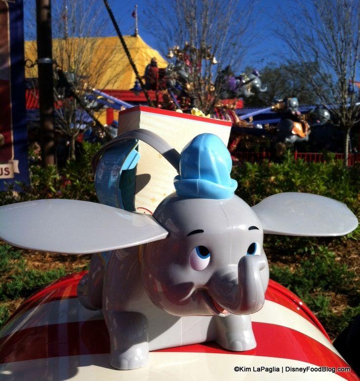 Dumbo Popcorn Container with Popcorn