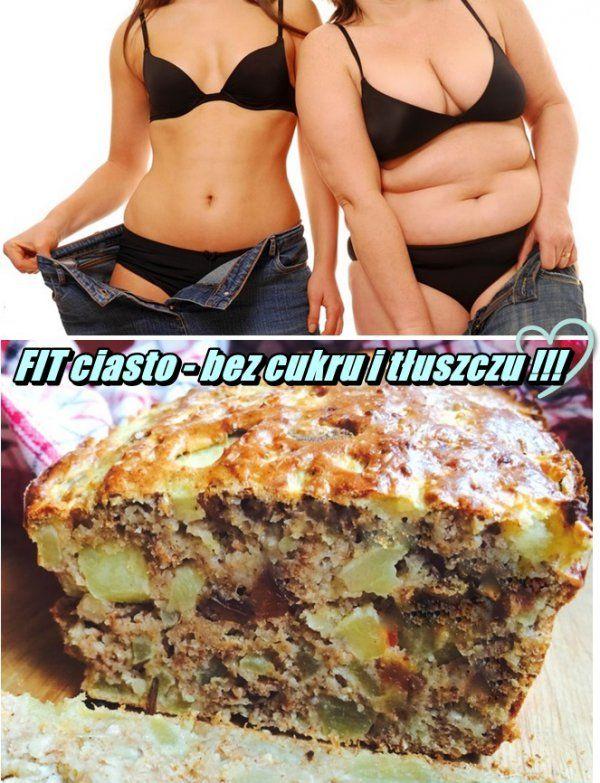 Dietetyczne ciasto jabłkowe - bez cukru i tłuszczu ! ! !