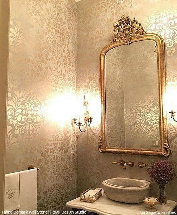 Decorative Wall Designs modern pop wall designs in hall shelves in pop designs Wall Stencils The Secret To Remodeling Your Bathroom On A Budget