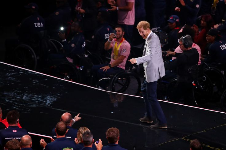 Meet the Parents: Meghan Markle Brings Her Mom Doria to Cheer Prince Harry  The 2017 Invictus Games have come to a close — and Prince Harry is celebrating a week well done. The royal stepped out for the Invictus Games closing ceremonies in Toronto's Air Canada Centre on Saturday evening. Harry sat in a VIP box in the stadium, where he watched performers Bruce Springsteen, Bryan Adams, Kelly Clarkson, Bachman & Turner and Coeur de pirate close out the seven days of competition....  ..