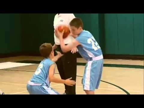 Defensive Drills for Youth Basketball | Close Out by George Karl - YouTube