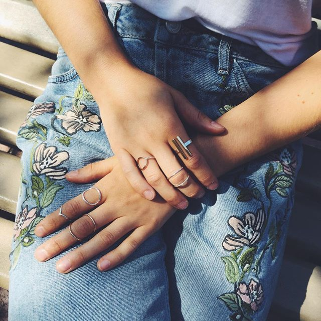 Dainty jewelry is the best kind <3