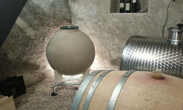 """Clayver is a ceramic """"Egg Shape"""" container designed specifically for winemaking, including fermentation, conservation and ageing."""