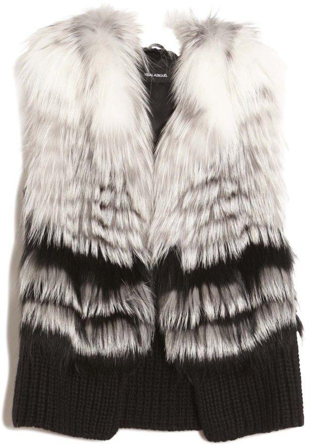 Yigal Azrouël Fox Fur Vest