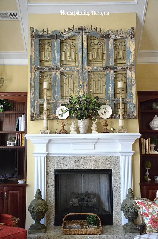 Spring Mantel 2014, Housepitality Designs
