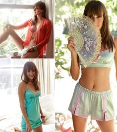 Top Drawer: 6 New Lingerie Patterns  Love the nightgowns and half slip
