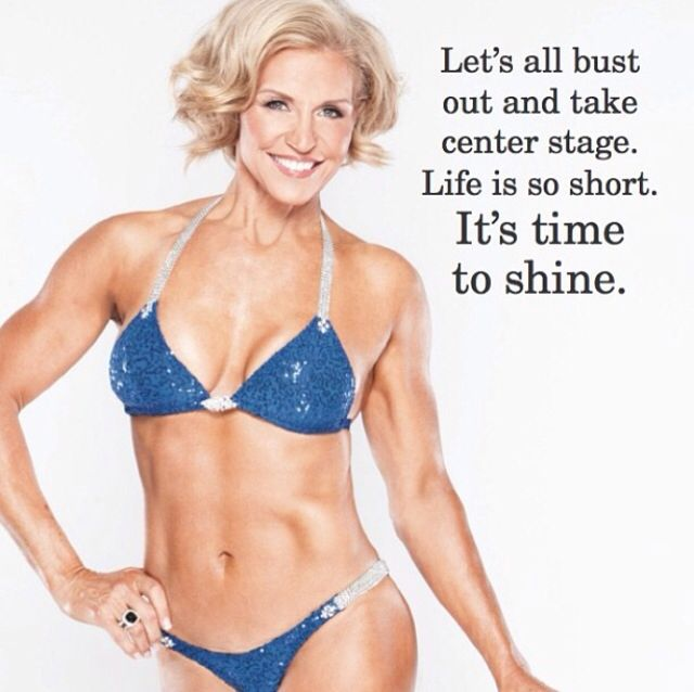 Tosca Reno I can't believe she is 56!!! AMAZING - clean eating really does work :)