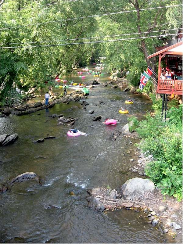Helen Ga, can't wait to go back and drink some beer/float down the river.