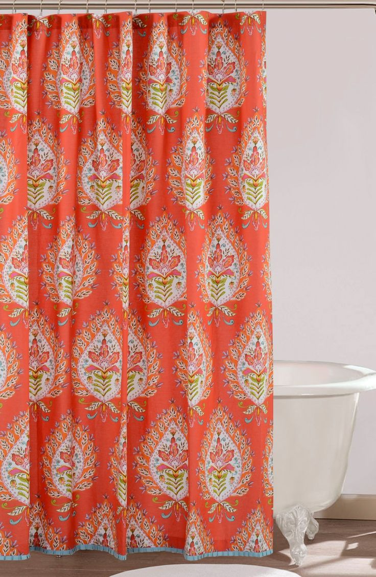 Dena Home Kalani Shower Curtain Colorful Shower