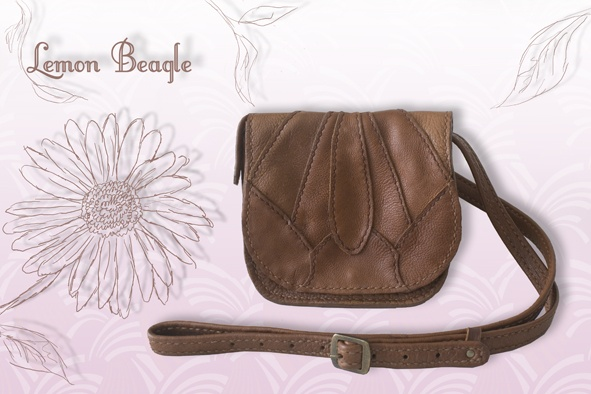 This bag is called Marguerite. For more info go to http://www.facebook.com/LemonBeagle