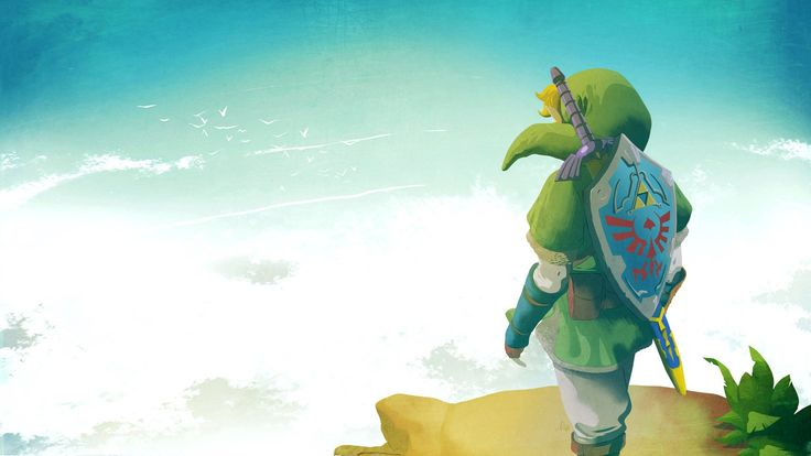 the legend of zelda desktop background