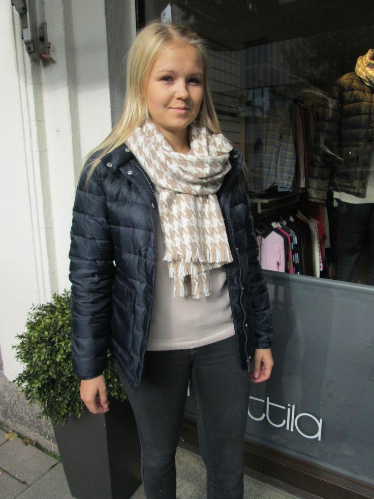 Gant jacket, knitwear & scarf for autumn '13
