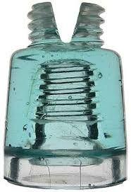 Resultado de imagen para rare antique glass insulators