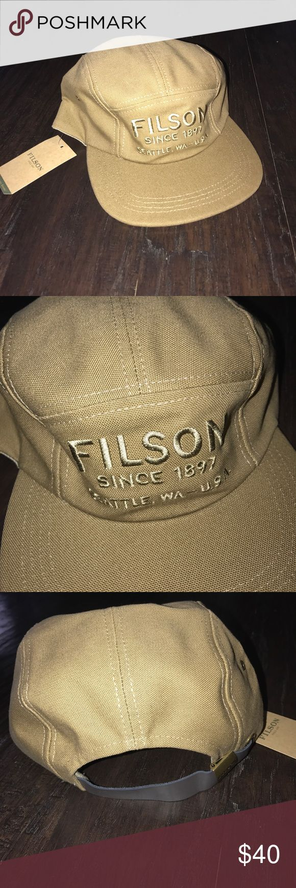 New Filson 5 Panel Hat Rugged Tan New with tags Filson Accessories Hats