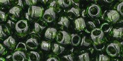 As low as $1.50 #TR06-940/c #TOHO Seed Bead Round 6/0 Transparent Olivine.