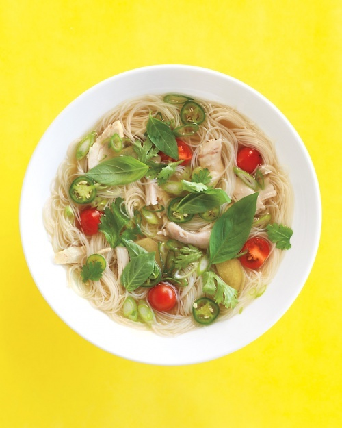 Asian-Style Chicken Soup - A real cold cure!