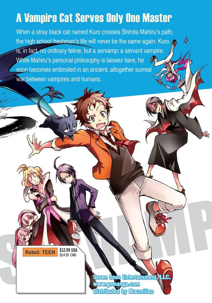 Servamp Manga Volume 1