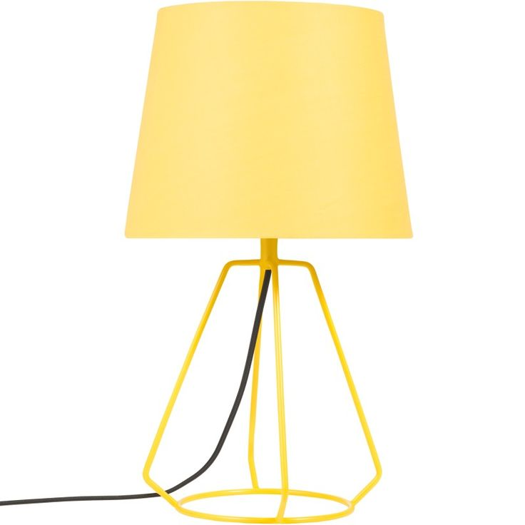 Yellow lamp from Åhléns - 399 SEK