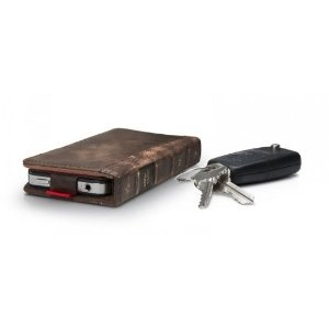 The Incredibly Thin iPhone 5 Retro Leather book case, Still give wonderful protection