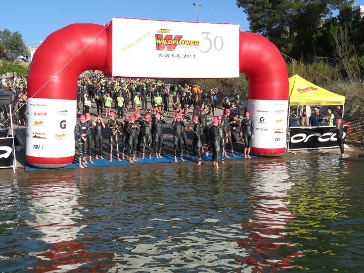 The World Famous Wildflower Triathlon @ Lake San Antonio