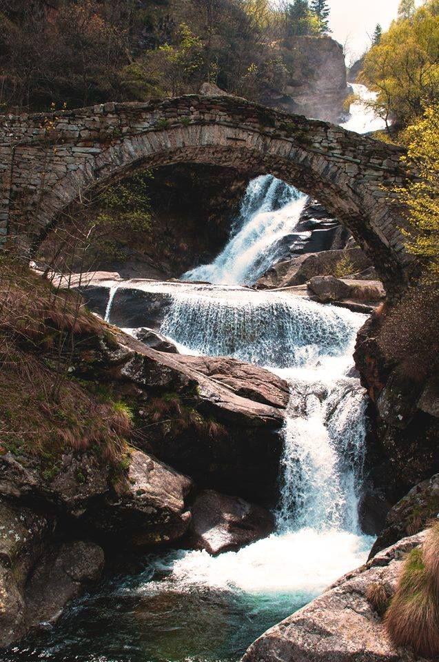Devil's Waterfalls, in Fondo di Traversella, near Ivrea (Piedmont) in Italy!  by Chiara Troisi