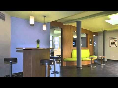 B&B Hotel Köln-Airport - Köln - Visit http://germanhotelstv.com/b-b-koln-porz-airport This 2-star hotel offers modern and affordable accommodation in the Porz district of Cologne just 8 km away from the historic city centre and Cologne-Bonn Airport. -http://youtu.be/uNBg8-43Kqw