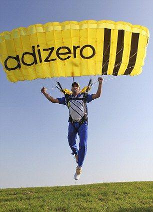 Sergio Garcia Adizero Golf Shoes Parachute