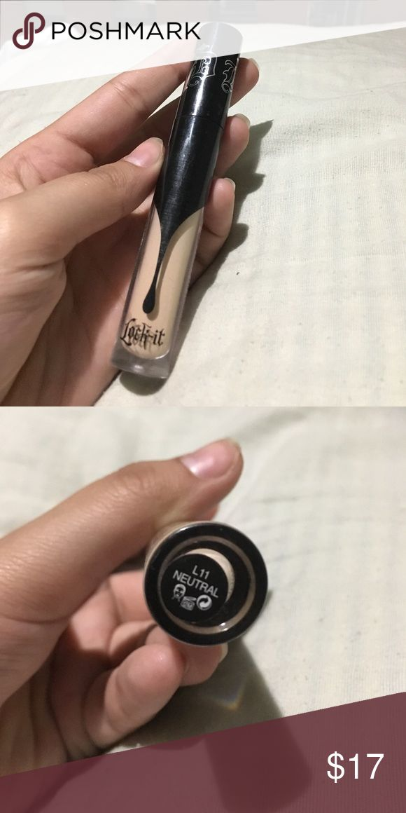 Kat Von D concealer in 11 neutral Authentic. Used once. Not my color so I'm selling it USE OFFER BUTTON Kat Von D Makeup Concealer