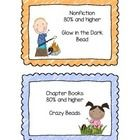 This is a fun way for your students to keep up with their AR progress.  Each student will receive a necklace. (I use the ball chains…..dog tag neck...
