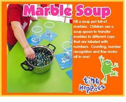 Marble Soup (Counting Activity) - Tiny Hoppers