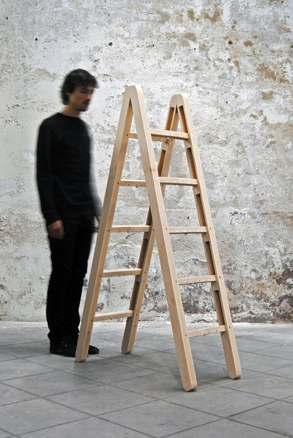 Quit simply, the Corner Ladder is amazing. One of those products with pure genius behind the design. Using a number of simple yet precise folding techniques,