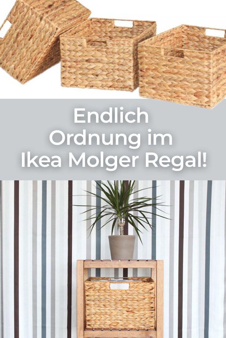 Regalkorb für Molger Regal | Ikea molger regal, Ikea molger ...