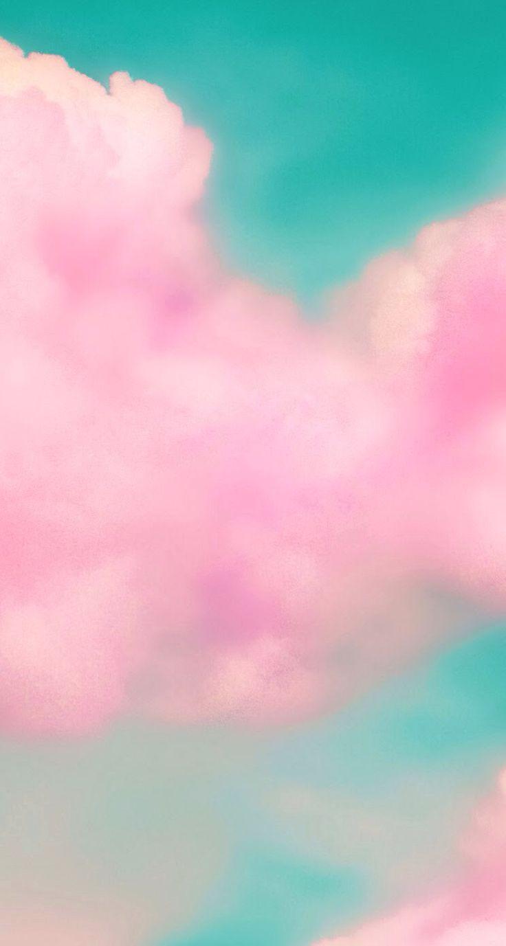 Pink cloud iphone wallpaper