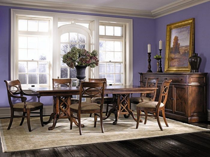 Experience Stickleys Generations Of Excellent Craftsmanship In Your Home With A Dining Set Like This One