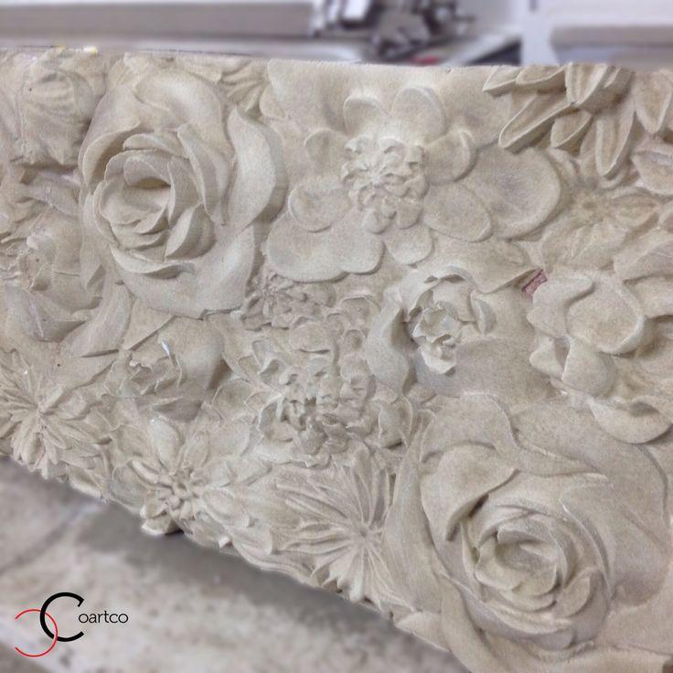 Panou 3D decorativ din polistiren CoArtCo pentru salon de evenimente
