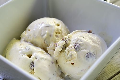 Rum Raisin Icecream recipe my husbands grandma would LOVE this!
