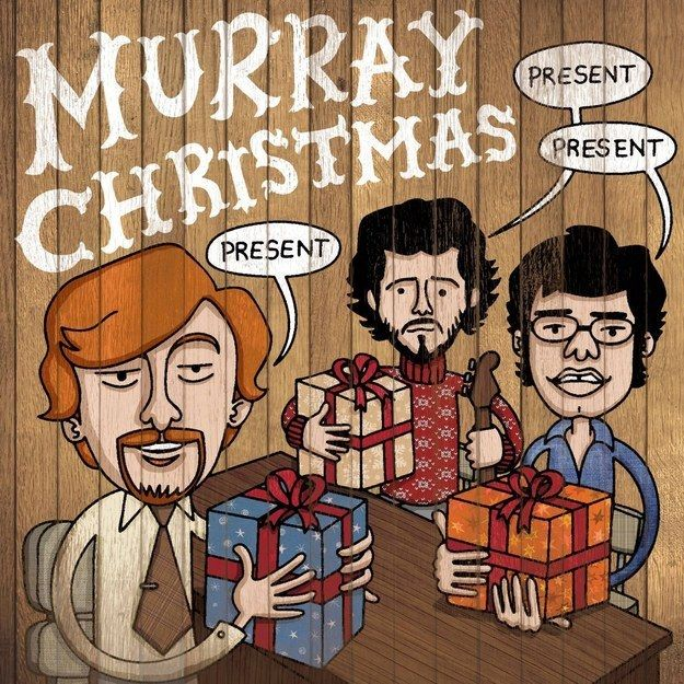 "This festive greeting. | 22 Things Only ""Flight Of The Conchords"" Fans Will Find Funny"