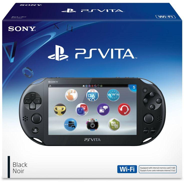 Sony Playstation Vita - PS Vita - New Slim Model - PCH-2006 (Black) NEW | eBay