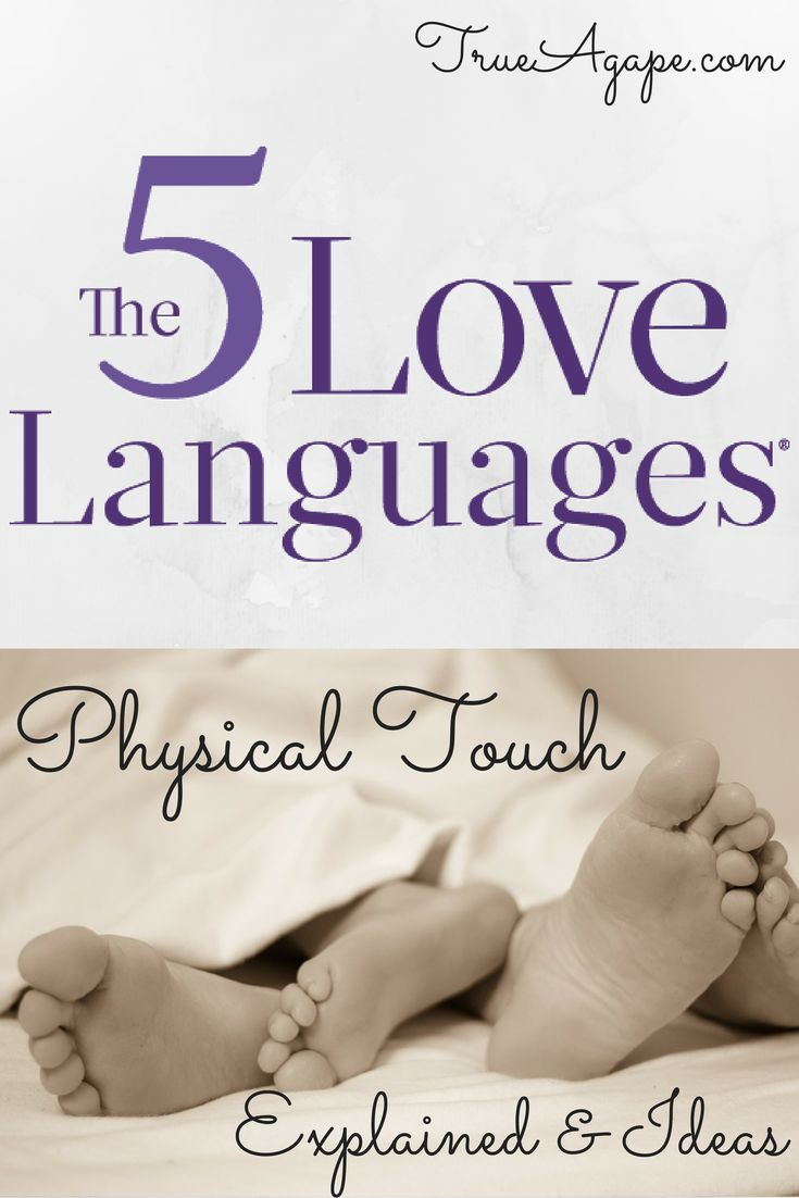 Love languages physical touch dating
