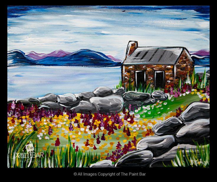 Carna Bay Ireland Painting - Jackie Schon, The Paint Bar