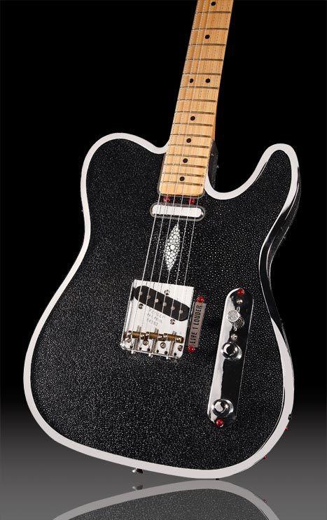 Rock Royalty KAGED Stingray Custom Guitar www.rockroyalty.com