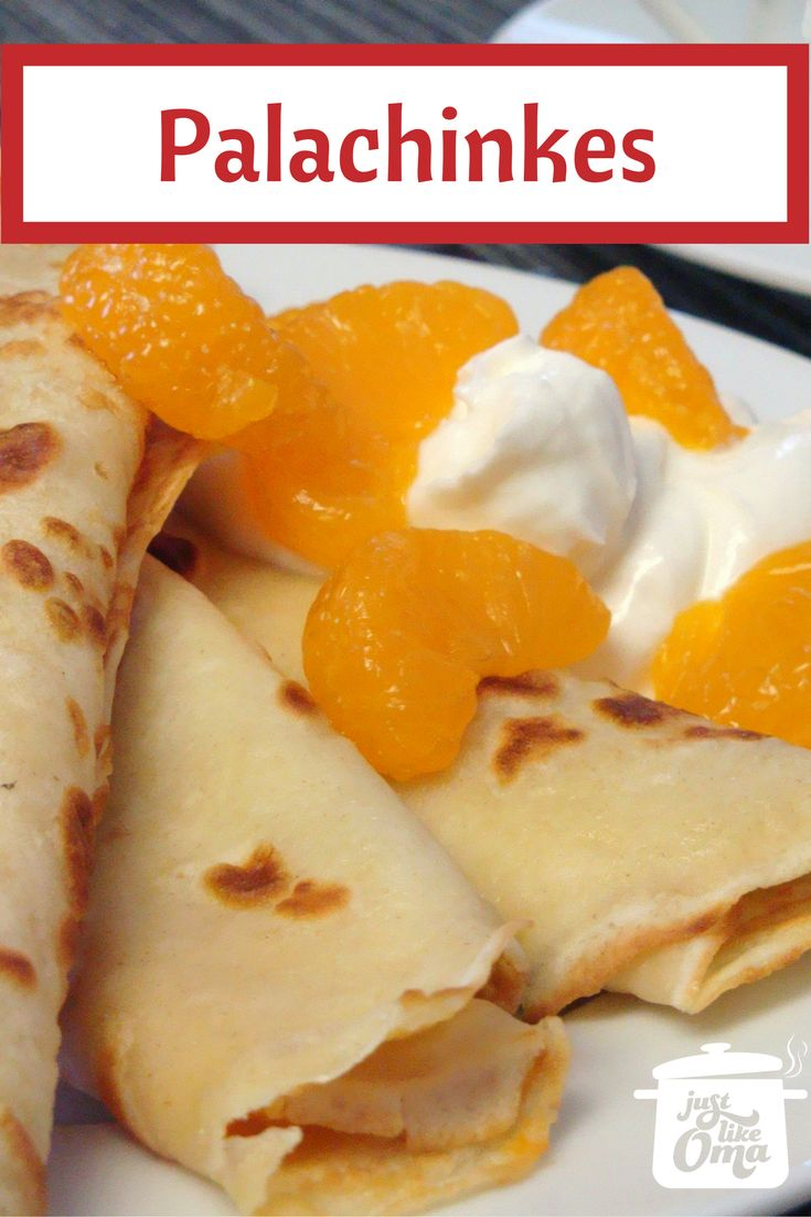 Need A Quick Dessert For Today Try Melania S Palacinkes So So Good And
