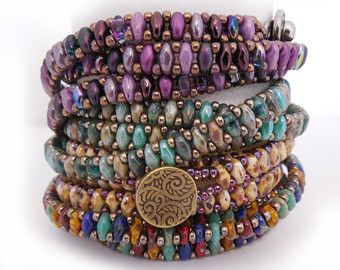 Usonia Bracelet Tutorial by Carole Ohl by openseed on Etsy